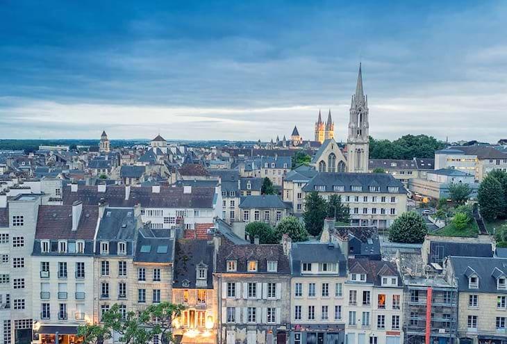 Bateau à Caen