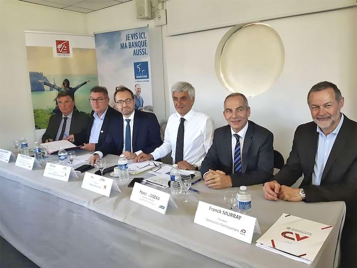 La Caisse d'Épargne Normandie a rejoint le fonds d'investissement Normandie Littoral, lancé par la Région.