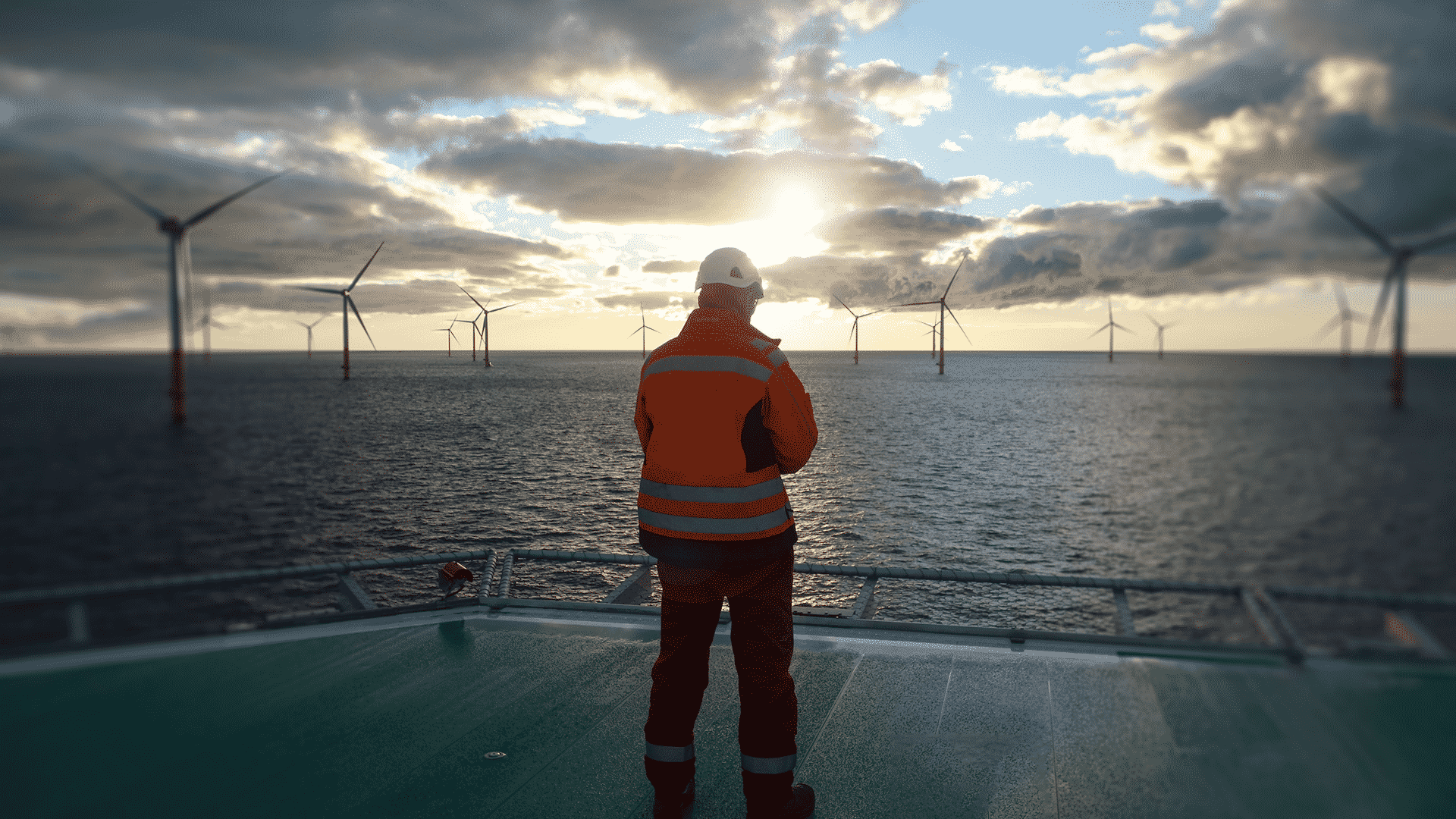 Parc éolien offshore en Normandie