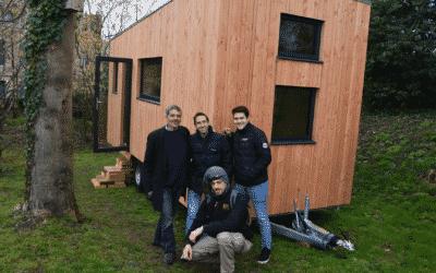 A Rouen, des maisons mobiles pour la réinsertion des personnes à la rue